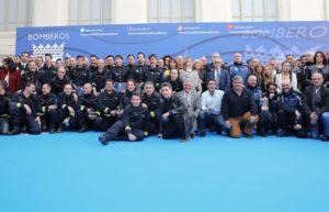 Premios Cuerpo de Bomberos del Ayuntamiento de Madrid