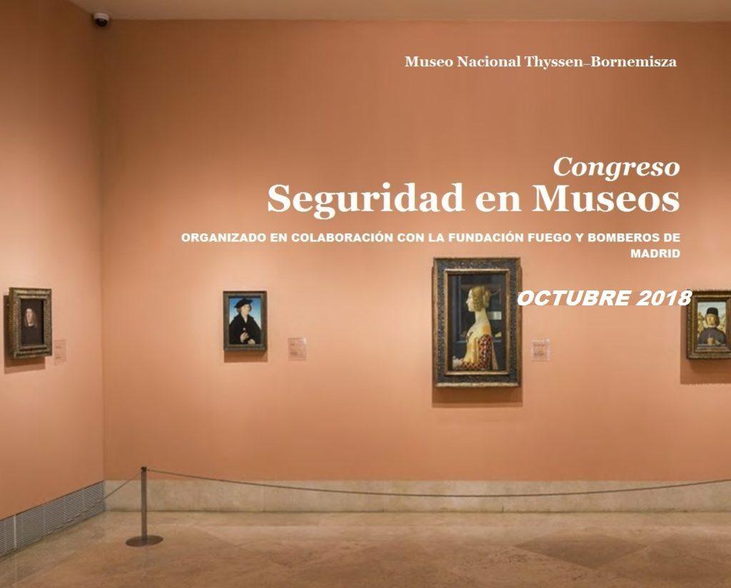 Congreso Seguridad en Museos Fundación Thyssen y Fundación Fuego
